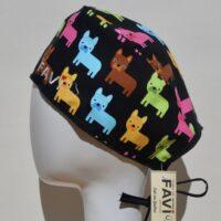 chapeau de chirurgie-bouledogues français
