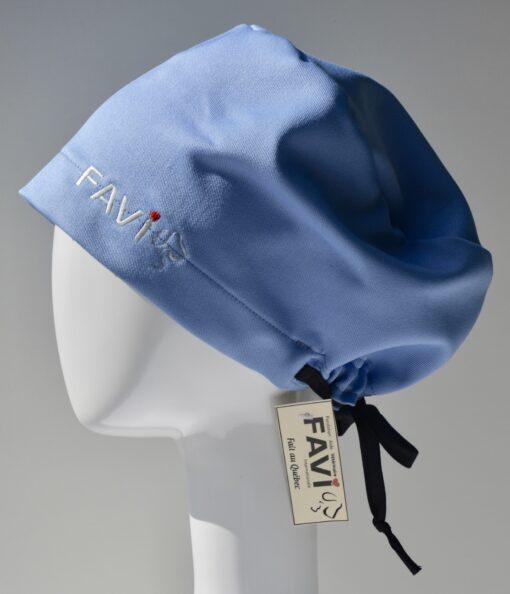 chapeau de chirurgie semi-bouffant-bleu éclatant