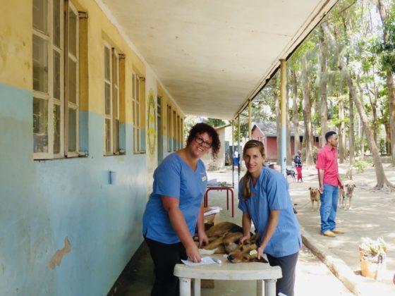 Zone préopératoire à la clinique de la FAVI en Tanzanie