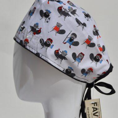 chapeau de chirurgie-castors randonneurs