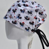 chapeau de chirurgie semi-bouffant-castors randonneurs