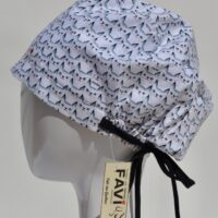 chapeau de chirurgie semi-bouffant-foule de minous