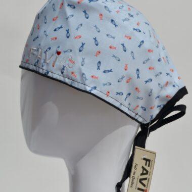chapeau de chirurgie-banc de poissons