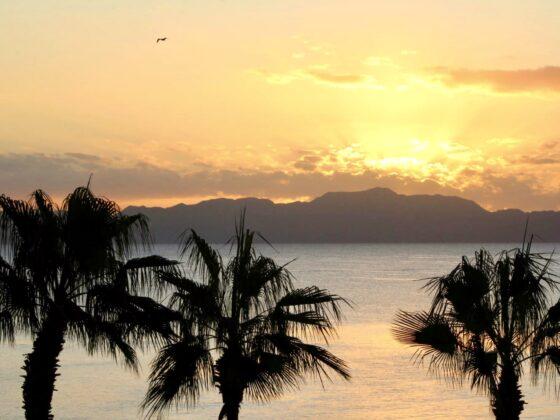 Lever de soleil à Loreto