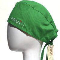 chapeau de chirurgie-vert