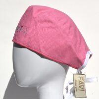 chapeau de chirurgie Les petits pois en rose