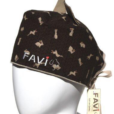 chapeau de chirurgie avec oreilles, Les lapins