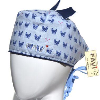 chapeau de chirurgie avec oreilles-les Boston Terriers