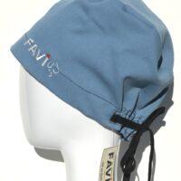 chapeau de chirurgie semi-bouffant-bleu classique