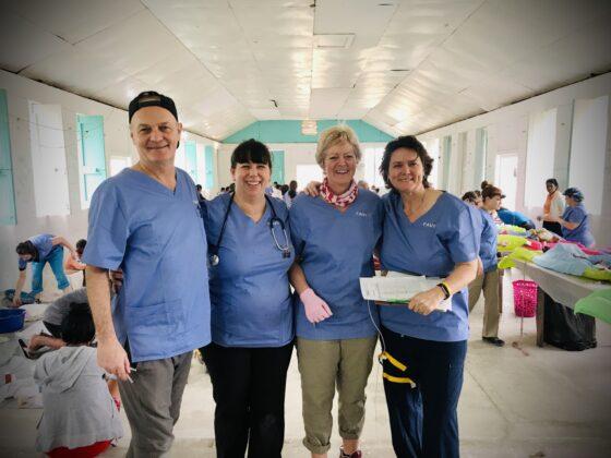 Indispensables bénévoles FAVI au Belize