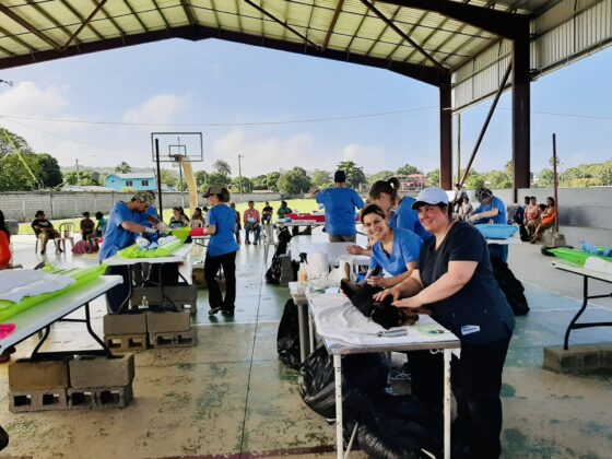 Clinique FAVI-CAWS à San Ignacio, Belize