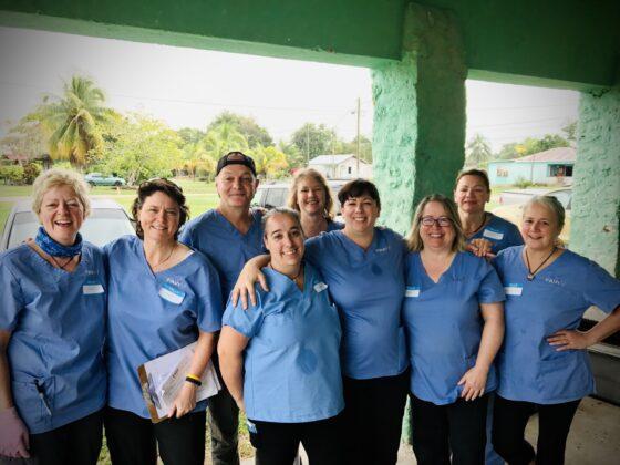 Équipe de bénévoles FAVI Belize janvier 2020