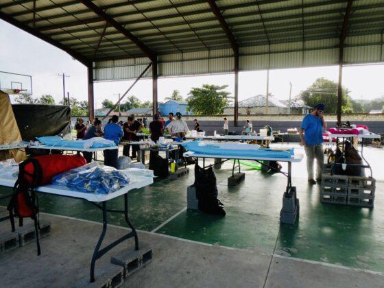 Clinique vétérinaire FAVI-CAWS au Belize