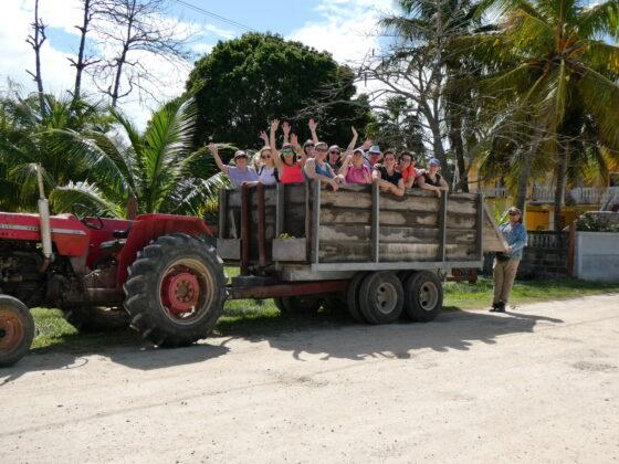 Transport local à Sarteneja, Belize