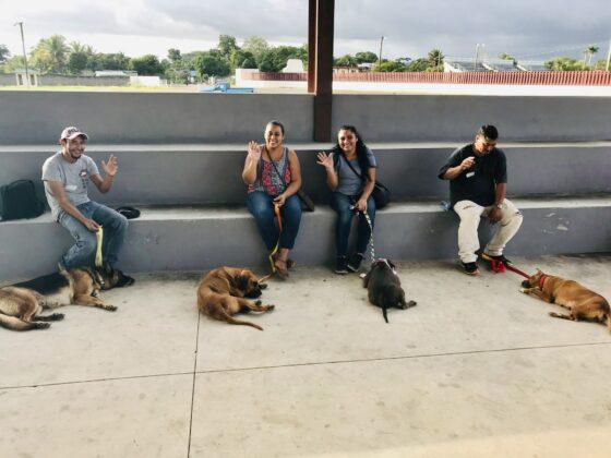Des propriétaires responsables à la clinique FAVI-CAWS de San Ignacio