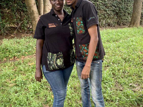 Irene et Dr Phillipo de Mbwa Wa Africa