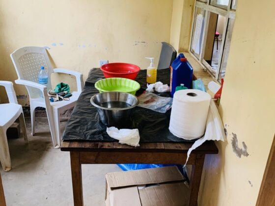 Station de lavage des instruments chirurgicaux