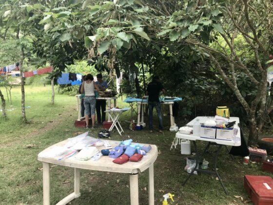 Stérilisation en plein air en Tanzanie