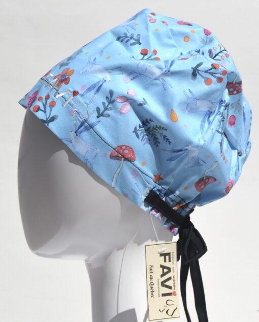 chapeau de chirurgie semi-bouffant-vive le printemps!